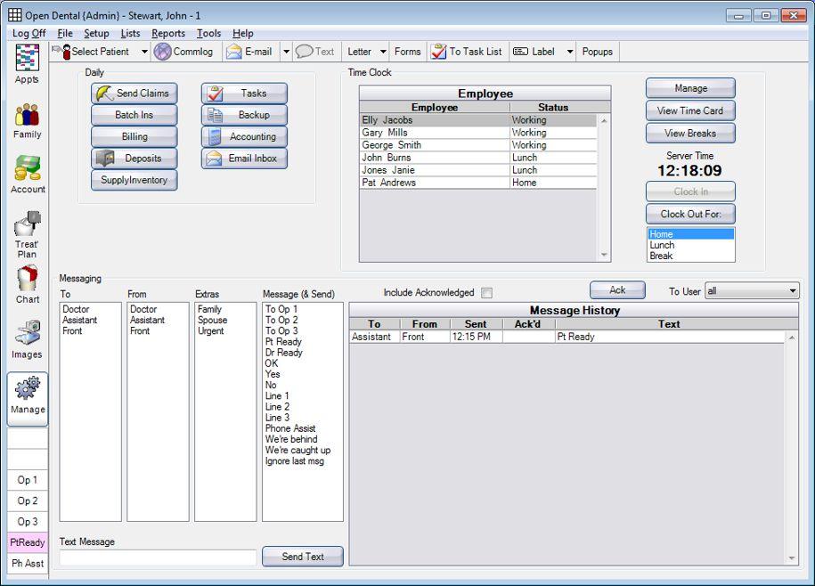 Open Dental Practice Management Software EHR and Practice Management Software
