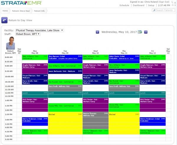 StrataPT EMR Software EHR and Practice Management Software