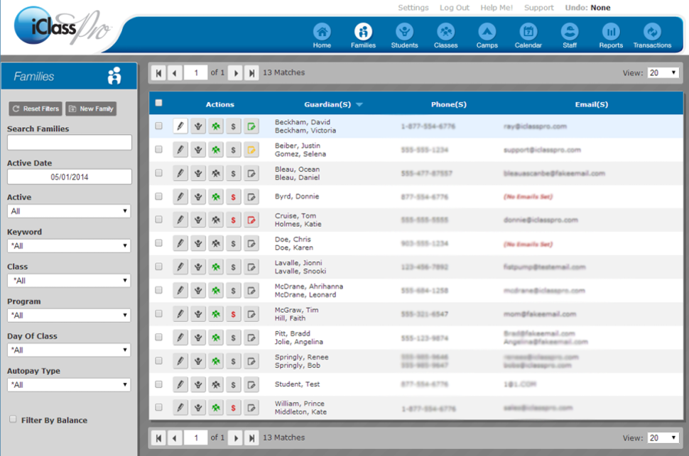 iClassPro Software EHR and Practice Management Software