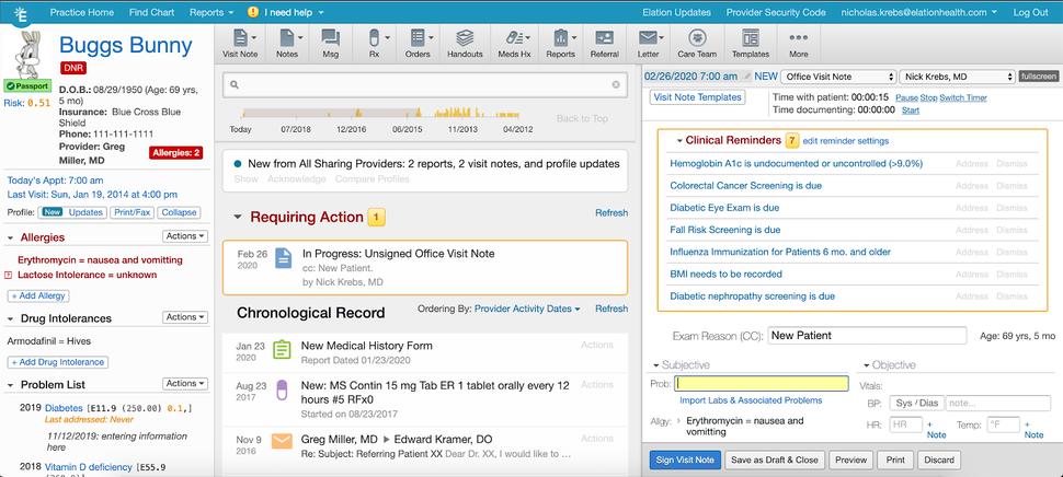 ElationHealth EHR Software EHR and Practice Management Software