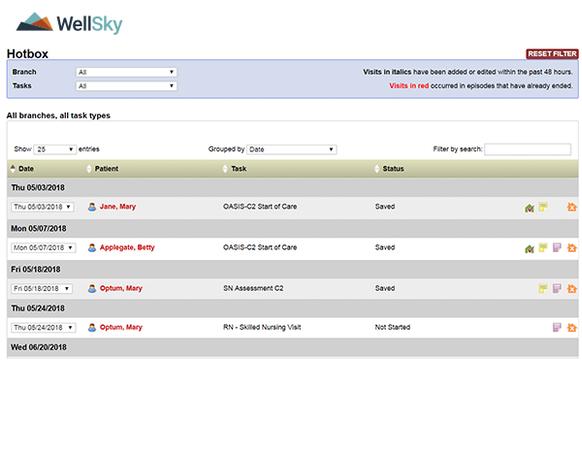 WellSky Home Health EMR Software EHR and Practice Management Software